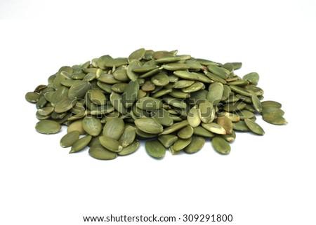 Pumpkin Seed - stock photo