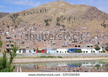 Puno is a city in southeastern Peru, located on the shore of Lake Titicaca. It is the capital city of the Puno Region and the Puno Province with a population of approximately 100,000.