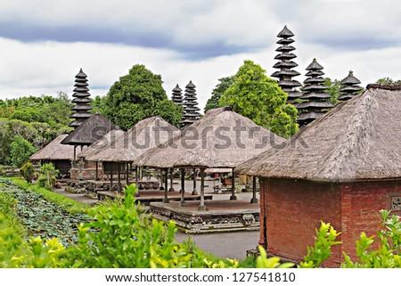 Pura Taman Ayun temple, Bali, Indonesia - stock photo