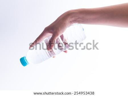 Pure drinking water  - stock photo