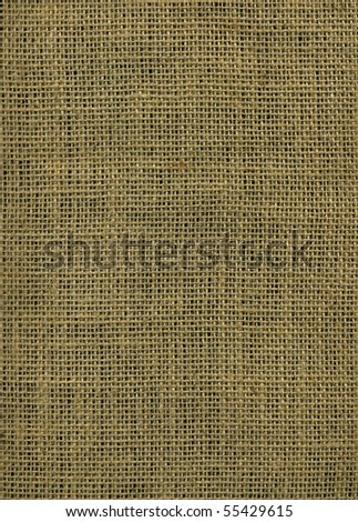 Pure jute canvas texture - stock photo