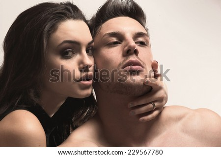 Pure passion .Fashion colors.  - stock photo