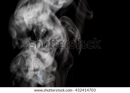 pure smoke on dark background. comfortable and easy to use for process any picture.