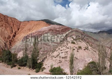 Purmamarca - Argentina - stock photo