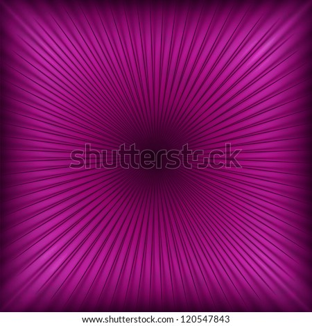 Purple abstract light rays background or texture
