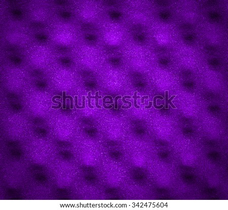 Purple acoustic foam for abstract background or texture - stock photo