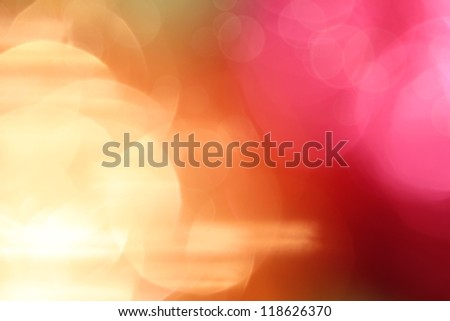 Purple and gold abstract background - stock photo