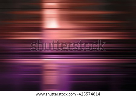 Purple and orange speed blur background with highlight