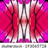 Purple and Pink background texture made from butterfly wing patterns - stock photo