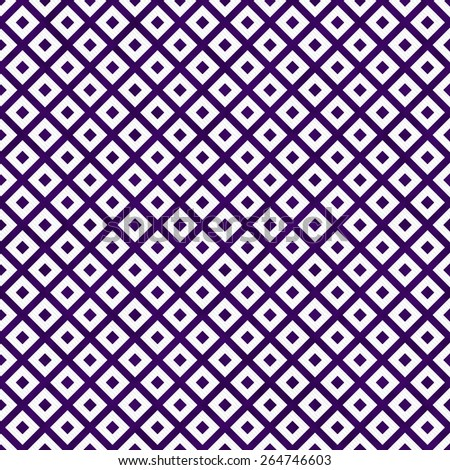 Purple and White Diagonal Squares Tiles Pattern Repeat Background that is seamless and repeats