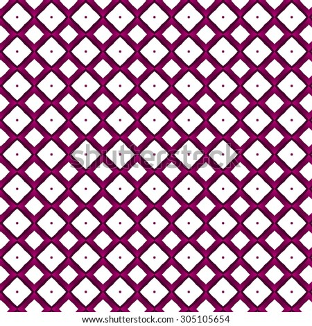 purple and white retro pattern in geometric style