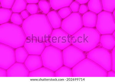 purple background from the cells or bubbles - stock photo