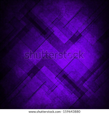 purple blue background abstract design retro grunge background texture layout of diamond element pattern and bright center, layers of geometric shape design pattern background template design website  - stock photo