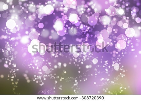 Purple bokeh and my idea Purple glitter background