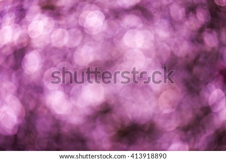 Purple bokeh background - stock photo