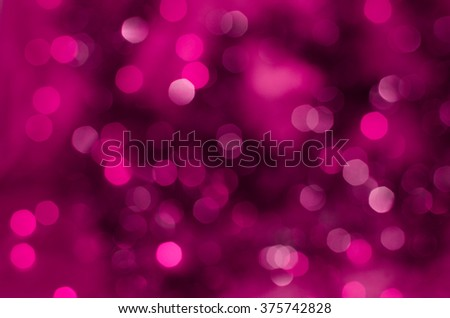 Purple bokeh holiday texture Christmas decorations background - stock photo