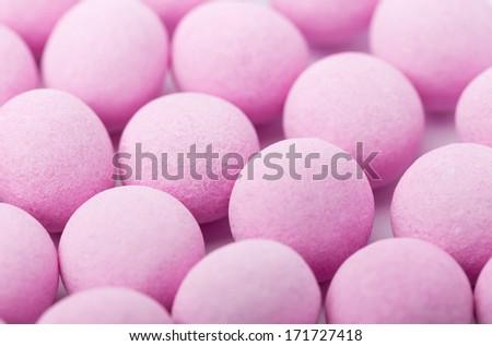 Purple bubblegum - stock photo