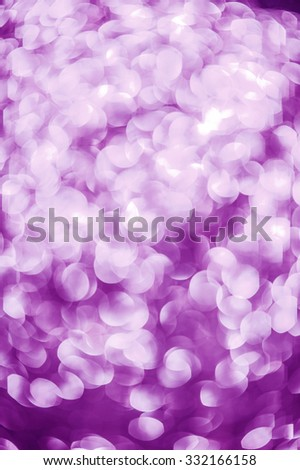 purple christmas bokeh background - stock photo