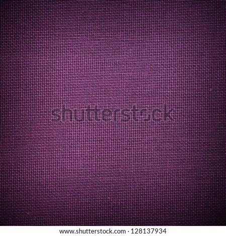Purple cloth background - stock photo