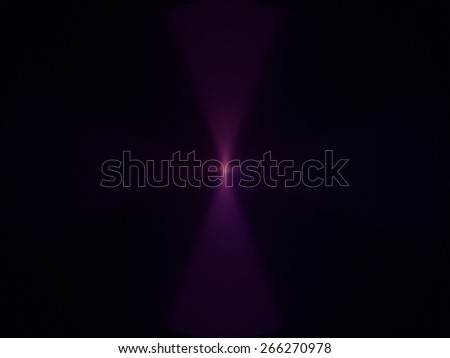 purple cross abstract background, relief waves on a black background - stock photo