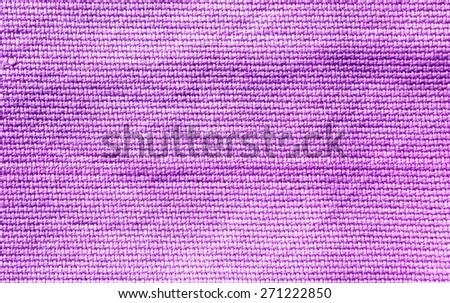 purple fabric texture background - stock photo