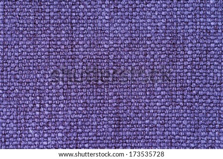Purple fabric texture or background - stock photo