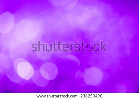Purple festive New Year'?s background. Abstract with bright twinkles, sparkles, blurred, defocused light. - stock photo