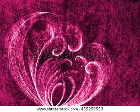 purple flower frame  lovely grunge background, floral abstract backdrop