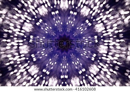 Purple fractal art background