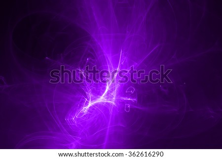 purple glow energy wave. lighting effect abstract background for your business. - stock photo