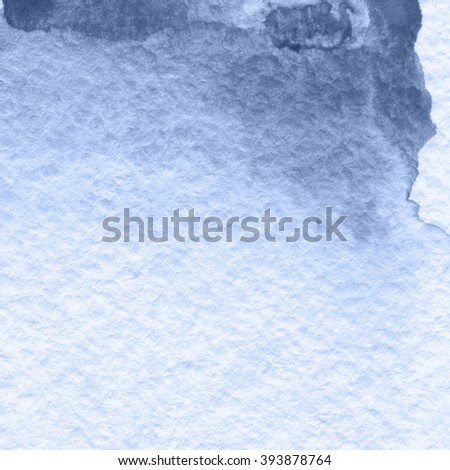 Purple gradient texture, watercolor abstract hand painted background - stock photo