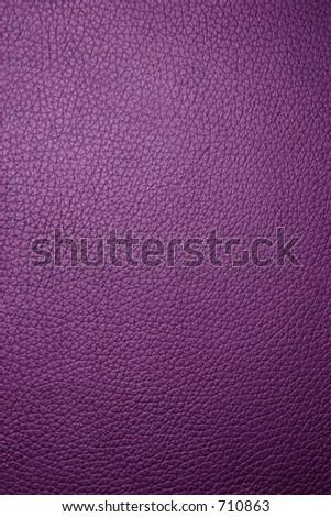Purple leather texture - Macro - stock photo