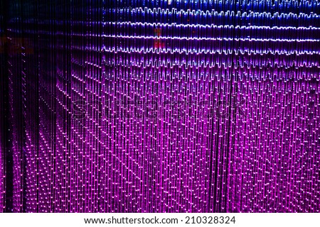 Purple LED abstract background - stock photo