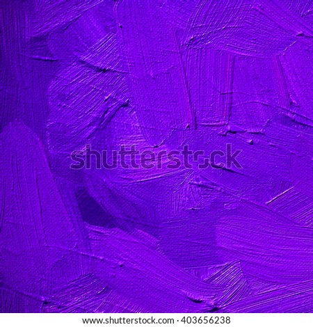 purple lilac background with large strokes of paint,pattern,wallpaper, painting - stock photo