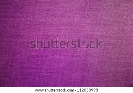Purple natural linen texture for the background - stock photo