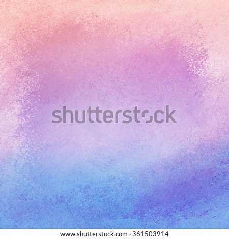 purple pink and blue background with gradient color and grunge vintage texture - stock photo