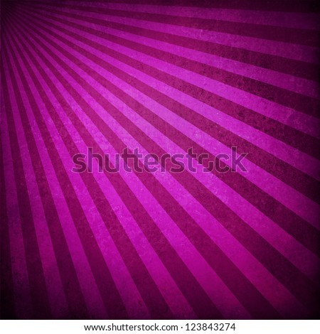 purple pink background retro striped layout, sunburst abstract background texture pattern, vintage grunge background sunrise design, old black border, bright colorful fun paper, valentine background - stock photo