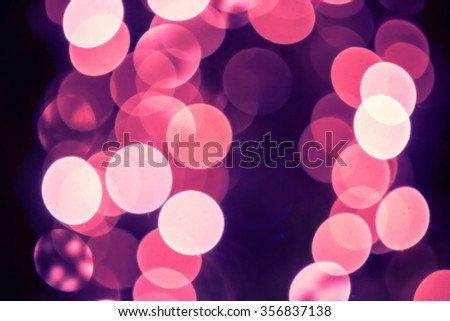 Purple Pink Festive Valentines elegant abstract background with bokeh lights toned image wallpaper - stock photo