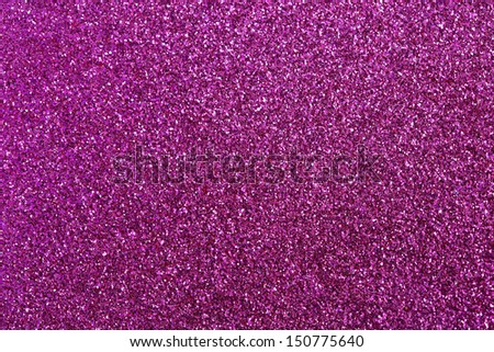 Purple-Pink glitter for texture or background - stock photo