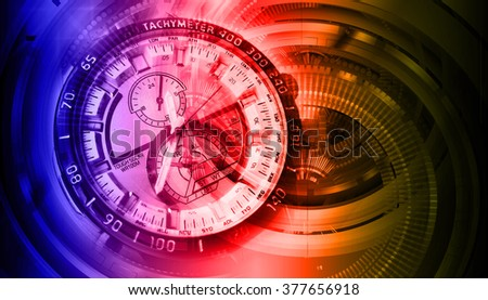 purple red orange illustration of technology internet network computer background with binary number, style. infographics. Information. motion blur. pixel. Binary digit. number. Odometer,clock, watch