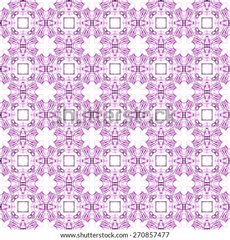 purple seamless geometric style pattern. ornamental background