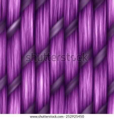 purple seamless weaving texture pattern wood  or hair - stock photo