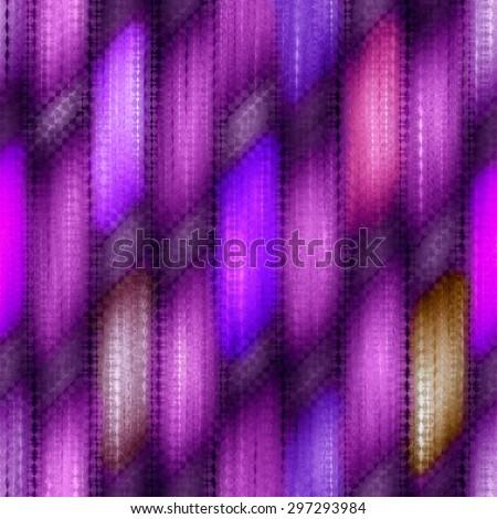 purple seamless weaving wood  texture  pattern under glass - stock photo