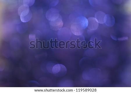 Purple snowflakes background - stock photo