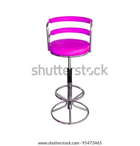 Purple Stylish Chair - stock photo