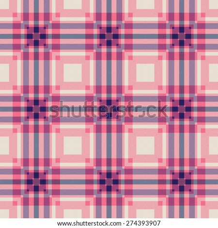 purple Tartan textile seamless background