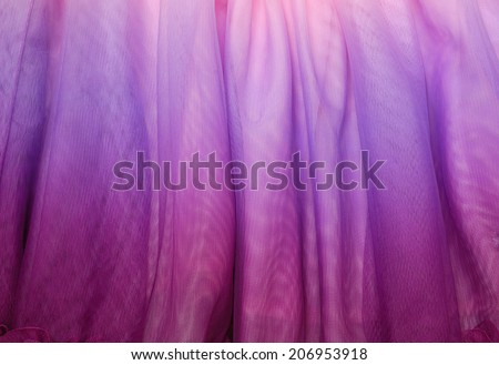 purple  tulle fabric  - stock photo