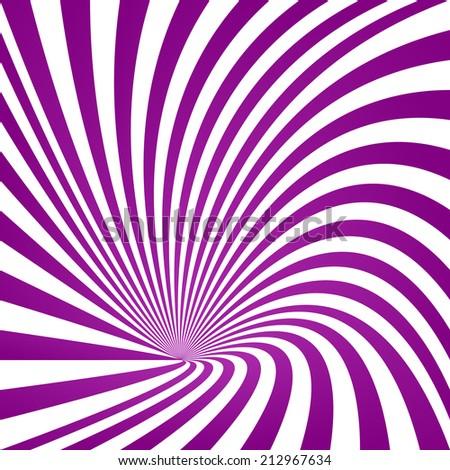 Purple twisted vortex background - jpeg version - stock photo
