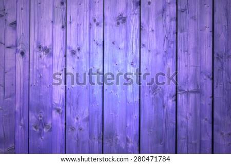 purple wood planks - stock photo