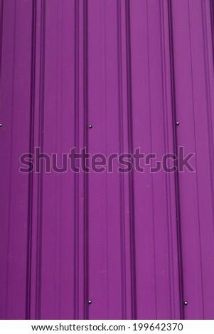 Purple Zinc Metal Surface Stock Photo